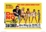 James Bond (Doctor No Yellow) Movie Poster Print Ensivedos