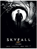James Bond (Skyfall Teaser) Movie Poster Print Impressão original