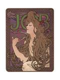 Job, c.1898 Prints by Alphonse Mucha