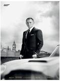 James Bond - Bond & Db5 (Skyfall) Movie Poster Print Neuheit