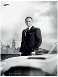 James Bond - Bond & Db5 (Skyfall) Movie Poster Print Lámina maestra