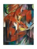 De vos, ca. 1913 Kunst van Franz Marc