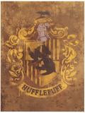 Harry Potter (Hufflepuff Crest) Movie Poster Mestertrykk