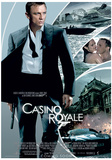 James Bond (Casino Royale One-Sheet) Movie Poster Print Impressão original