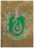 Harry Potter (Slytherin Crest) Movie Poster Mestertrykk