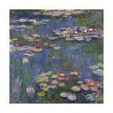 Vannlinjer Posters av Claude Monet