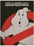 Poster du film SOS Fantômes (logo) Affiche originale