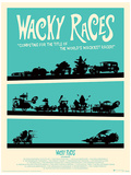 Wacky Races Poster Stampa master