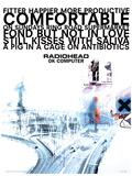 Radiohead - Ok Computer Music Poster マスタープリント
