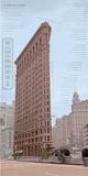 Flatiron Architecture Posters av Phil Maier