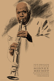 Sidney Bechet Art by Clifford Faust