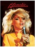 Blondie (Heart Of Glass) Music Poster Affiche originale