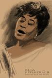 Ella Fitzgerald Poster von Clifford Faust