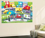 City Street - Turtle Seinämaalaus tekijänä Marcus Cutler