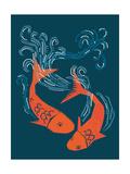 Tranquil Pond Giclee Print