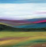 Prairie Abstract 4 Posters av Mary Johnston