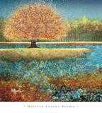 Jewel River Poster von Melissa Graves-Brown