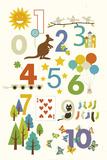 123 Posters tekijänä Yuko Lau