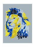 Broken Lion Giclée-Druck