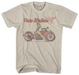 Van Halen - Biker Pin Up Tシャツ