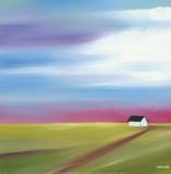 Prairie Abstract 2 Posters av Mary Johnston