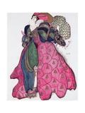Costume Design for the Ballet 'La Legende de Joseph', 1914 Giclee Print by Leon Bakst