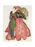 Costume Design for the Ballet 'La Legende de Joseph', 1914 Giclée-vedos tekijänä Leon Bakst