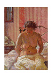 Nude in an Interior, c.1911 Giclée-tryk af Harold Gilman
