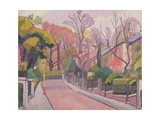 Cambrian Road, Richmond, 1913-4 Giclée-tryk af Spencer Frederick Gore