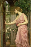 Psyche Entering Cupid's Garden, 1903 Giclee Print by John William Waterhouse