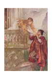 Romeo and Juliet from 'Children's Stories from Shakespeare' by Edith Nesbit (1858-1924) Pub. by… Giclee Print by John Henry Frederick Bacon