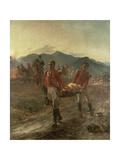 On the Morrow of Talavera, 1923 Gicléetryck av Lady Butler