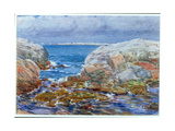 Duck Island, Isles of Shoals, 1906 Giclee Print by Childe Hassam