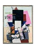 Composition with the Mona Lisa, c.1914 Reproduction procédé giclée par Kasimir Malevich