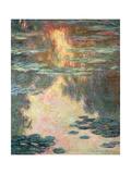 Waterlilies, 1907 Giclée-Druck von Claude Monet