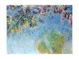 Wisteria, 1920-25 Impressão giclée por Claude Monet