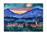 Mountain Village, 1910 Giclee-trykk av Alexej Von Jawlensky