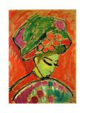 The Turban, 1910 Impressão giclée por Alexej Von Jawlensky