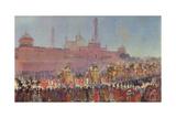 The Delhi Durbar, 1903 Giclee-trykk av Roderick D. MacKenzie