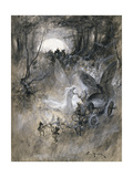 The Court of Faerie, 1906 Giclee Print by Thomas Maybank