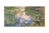Nympheas, c.1919-22 Reproduction procédé giclée par Claude Monet