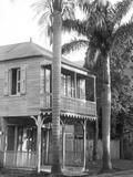 A House in Port Au Prince, 1908-09 Reproduction photographique par Harry Hamilton Johnston
