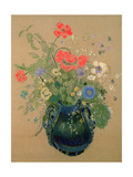Vase of Flowers, c.1905-08 Giclee Print by Odilon Redon