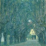 Avenue in the Park of Schloss Kammer, 1912 Giclée-Druck von Gustav Klimt