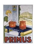 Poster Advertising the Primus Hob, Printed by Dampenon and Elarue Reproduction procédé giclée par  French School