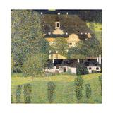 Kammer Castle on Lake Attersee II, 1909 Giclée-Druck von Gustav Klimt
