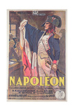 Poster Advertising the Film, 'Napoleon', Written by Abel Gance Giclee Print by  French School