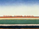 Red Cavalry, 1928-32 Giclée-tryk af Kasimir Malevich