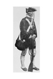 An English Soldier, from the Mural Decoration, Hudson County Court House, Jersey City, New Jersey Gicléedruk van Howard Pyle