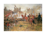 Cromwell at the Storming of Basing House, 1900 Giclee Print by Ernest Crofts